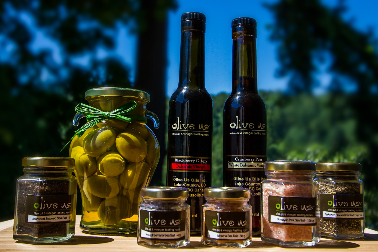 Olive Us Oils – Go Ahead… Play With Your Food!